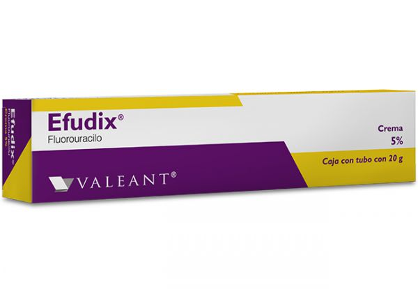 Efudix is a medical ointment to treat solar keratosis